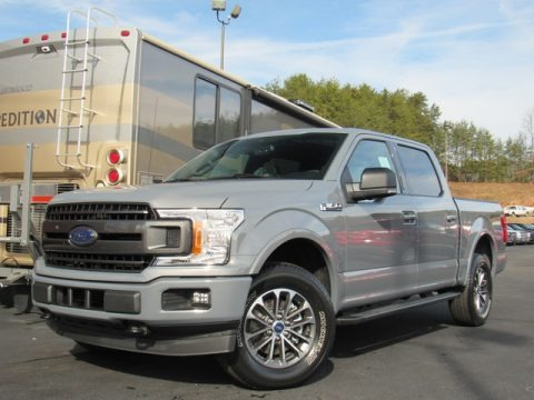 Abyss Gray 2019 Ford F150 XLT SuperCrew 4x4
