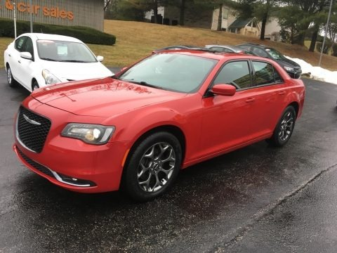 Redline Red Tri-Coat Pearl 2016 Chrysler 300 S AWD