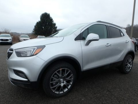 Quicksilver Metallic 2019 Buick Encore Sport Touring AWD
