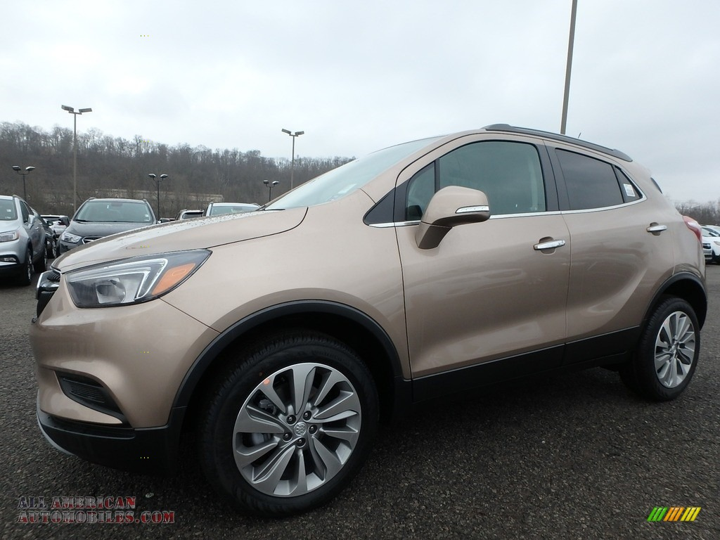 2019 Encore Preferred AWD - Coppertino Metallic / Ebony photo #1