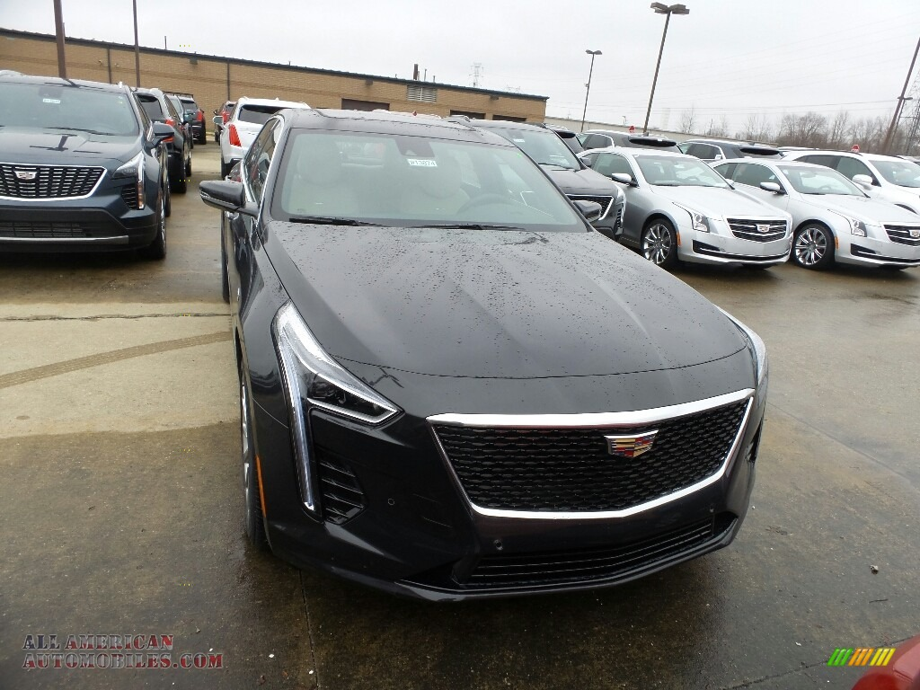 2019 CT6 Luxury AWD - Manhattan Noir Metallic / Sahara Beige/Jet Black photo #1