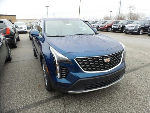 Atlantic Metallic 2019 Cadillac XT4 Premium Luxury AWD