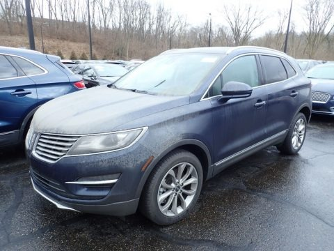 Midnight Sapphire 2017 Lincoln MKC Select AWD