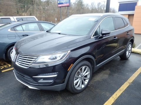 Black Velvet 2017 Lincoln MKC Select AWD