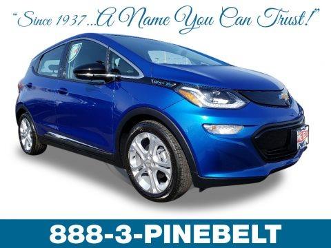 Kinetic Blue Metallic 2019 Chevrolet Bolt EV LT