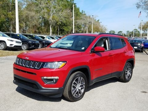 Red-Line Pearl 2019 Jeep Compass Latitude