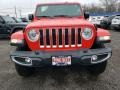 Jeep Wrangler Unlimited Sahara 4x4 Firecracker Red photo #2