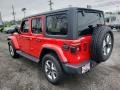 Jeep Wrangler Unlimited Sahara 4x4 Firecracker Red photo #4