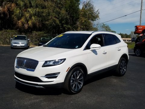 White Platinum 2019 Lincoln MKC Reserve