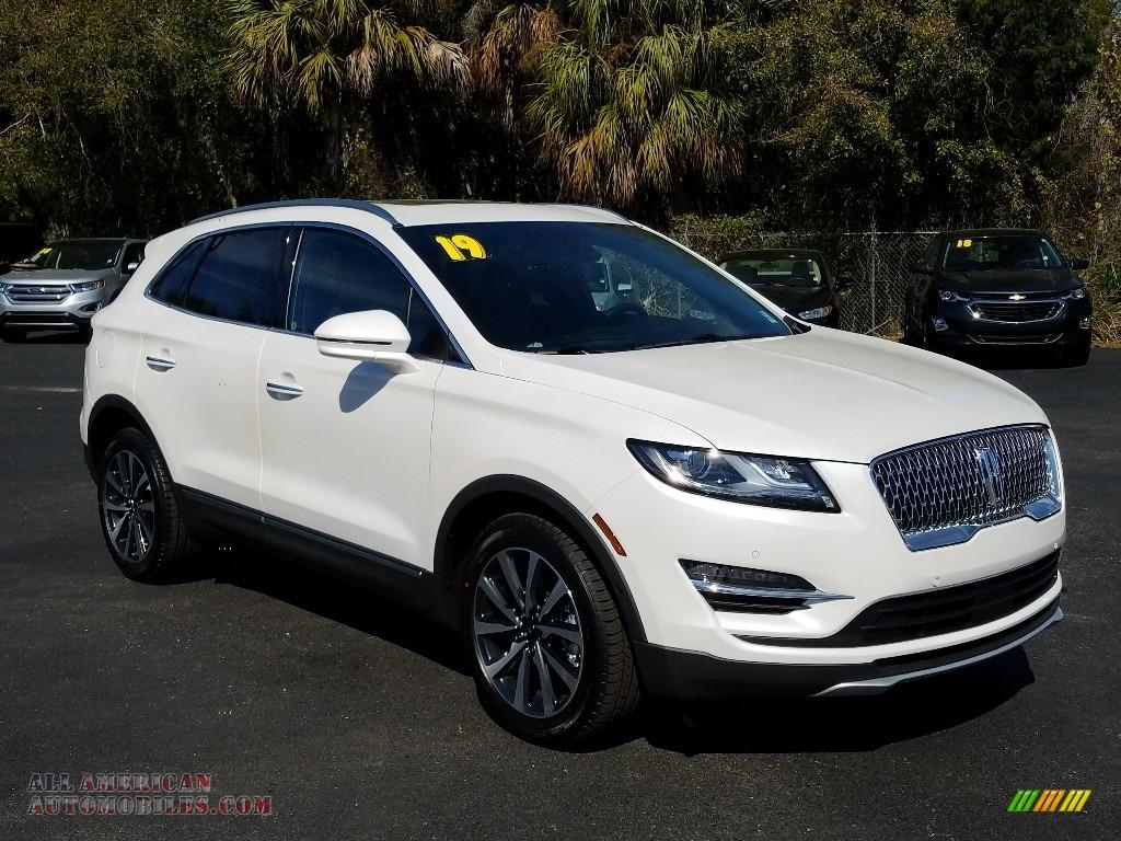 2019 MKC Reserve - White Platinum / Ebony photo #7