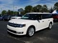 Ford Flex SEL White Platinum photo #1
