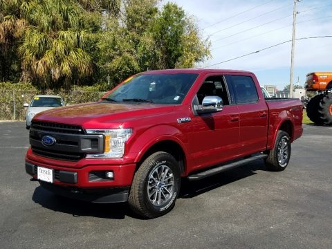 Ruby Red 2019 Ford F150 XLT Sport SuperCrew 4x4