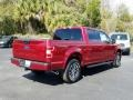 Ford F150 XLT Sport SuperCrew 4x4 Ruby Red photo #5