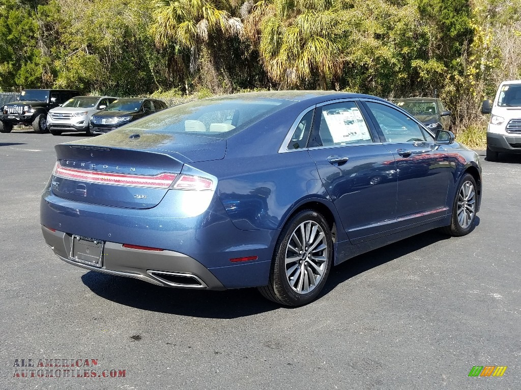 2019 MKZ FWD - Blue Diamond / Cappuccino photo #5