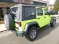 Jeep Wrangler Unlimited Sport 4x4 Hypergreen photo #2