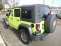 Jeep Wrangler Unlimited Sport 4x4 Hypergreen photo #7