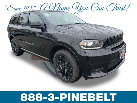 DB Black 2019 Dodge Durango GT AWD