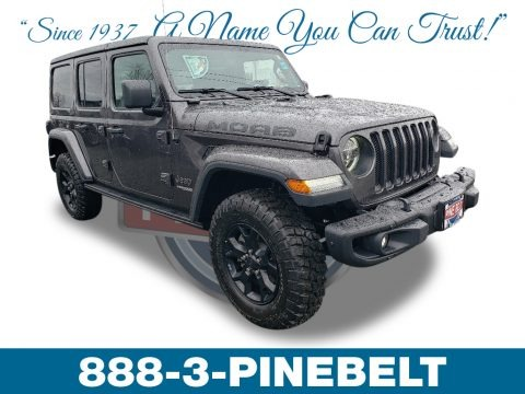 Granite Crystal Metallic 2019 Jeep Wrangler Unlimited MOAB 4x4