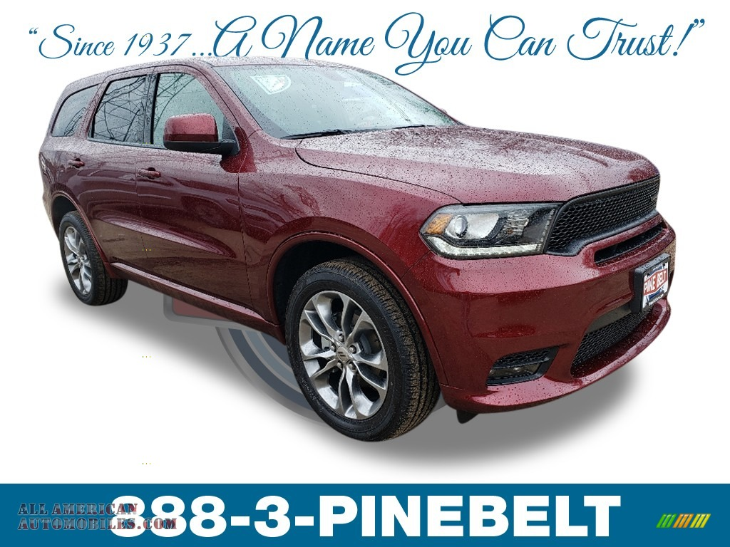 2019 Durango GT AWD - Octane Red Pearl / Black photo #1