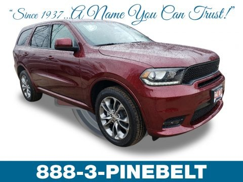 Octane Red Pearl 2019 Dodge Durango GT AWD