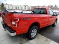 Ford F150 XL Regular Cab Race Red photo #2