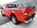 Ford F150 XL Regular Cab Race Red photo #3
