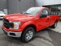 Ford F150 XL Regular Cab Race Red photo #4