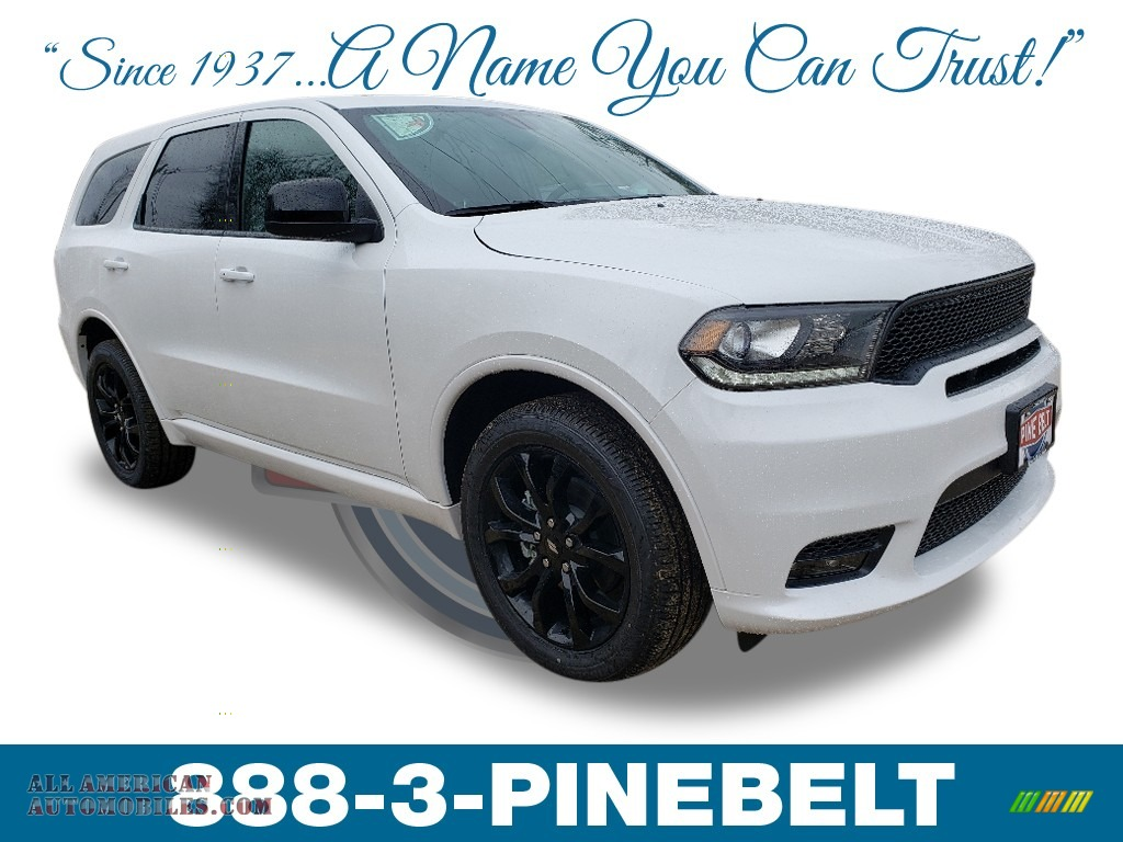 2019 Durango GT AWD - White Knuckle / Black photo #1