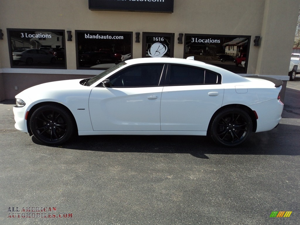 2016 Charger R/T - Bright White / Black photo #1
