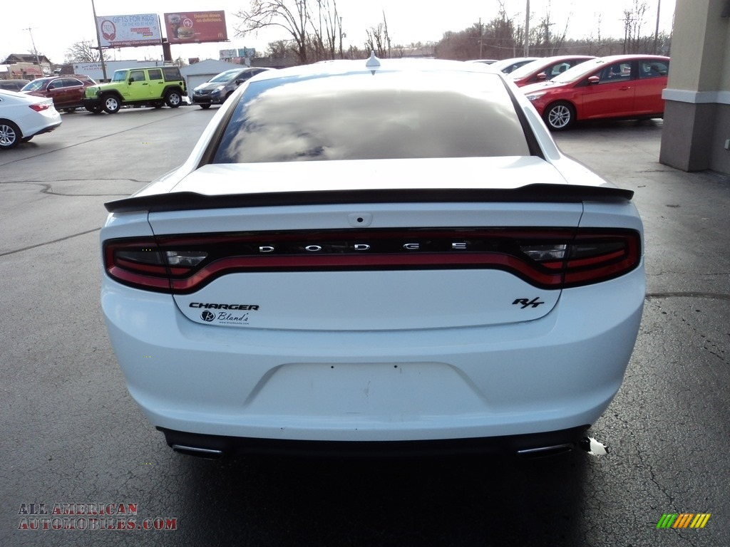 2016 Charger R/T - Bright White / Black photo #27