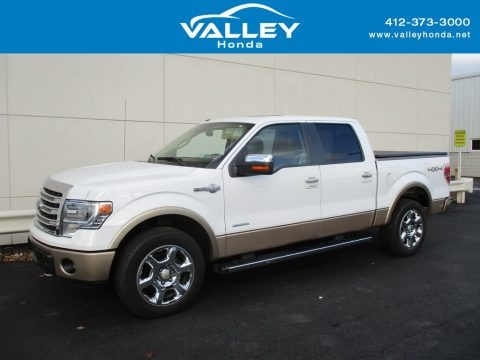 Oxford White 2014 Ford F150 King Ranch SuperCrew 4x4
