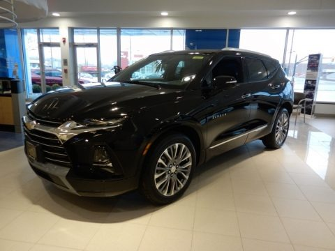 Black 2019 Chevrolet Blazer Premier AWD
