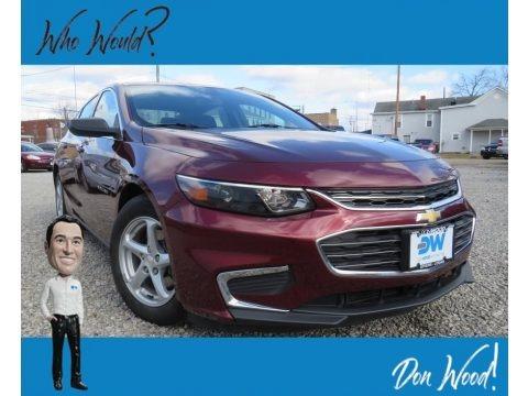 Butte Red Metallic 2016 Chevrolet Malibu LS