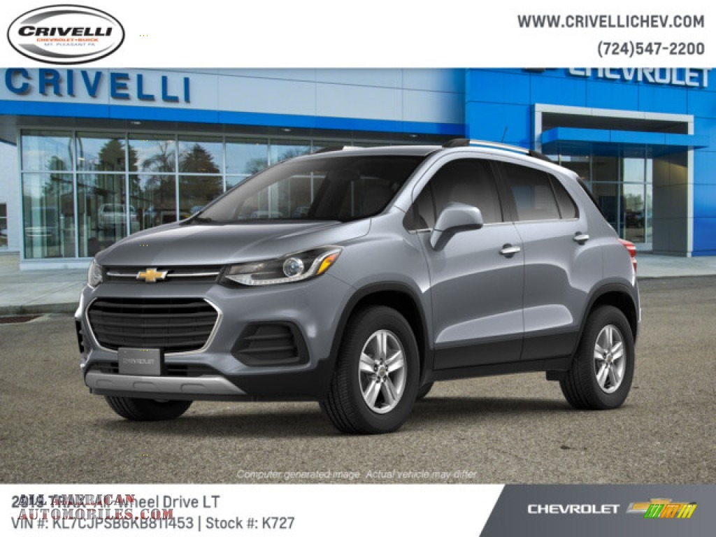 2019 Trax LT AWD - Satin Steel Metallic / Jet Black photo #1