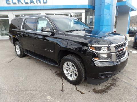 Black 2019 Chevrolet Suburban LS 4WD