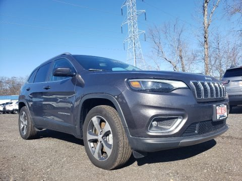 Granite Crystal Metallic 2019 Jeep Cherokee Limited 4x4