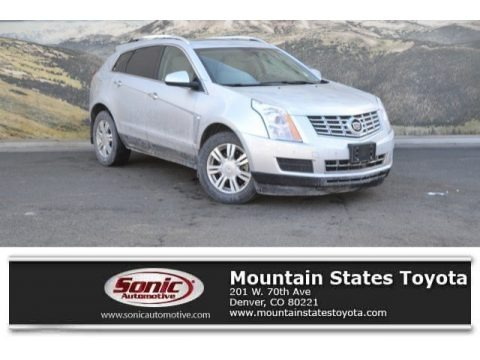 Radiant Silver Metallic 2014 Cadillac SRX Luxury AWD