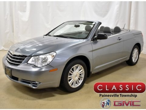 Clearwater Blue Pearl 2008 Chrysler Sebring LX Convertible