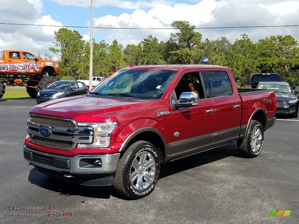 2019 F150 King Ranch SuperCrew 4x4 - Ruby Red / King Ranch Kingsville/Java photo #1