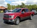 Ford F150 King Ranch SuperCrew 4x4 Ruby Red photo #1