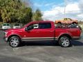 Ford F150 King Ranch SuperCrew 4x4 Ruby Red photo #2