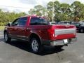 Ford F150 King Ranch SuperCrew 4x4 Ruby Red photo #3
