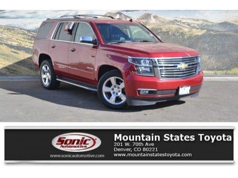 Crystal Red Tintcoat 2015 Chevrolet Tahoe LTZ 4WD