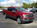 Ford F150 King Ranch SuperCrew 4x4 Ruby Red photo #7