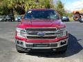 Ford F150 King Ranch SuperCrew 4x4 Ruby Red photo #8