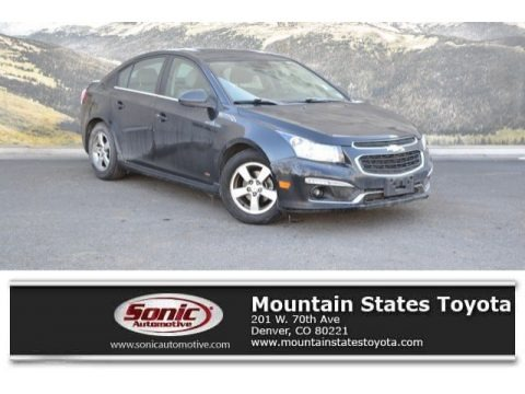 Black Granite Metallic 2015 Chevrolet Cruze LT