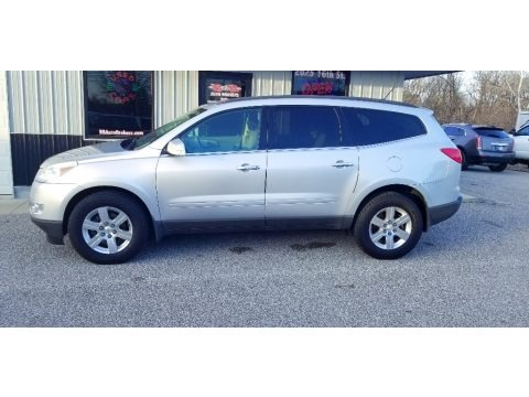 Silver Ice Metallic 2012 Chevrolet Traverse LT AWD