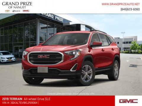 Red Quartz Tintcoat 2019 GMC Terrain SLE AWD