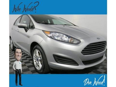 Ingot Silver 2017 Ford Fiesta SE Hatchback