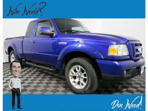 Sonic Blue Metallic 2006 Ford Ranger XLT SuperCab 4x4